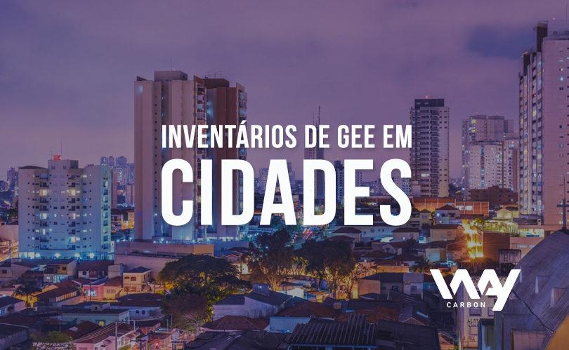 inventários de GEE em cidades