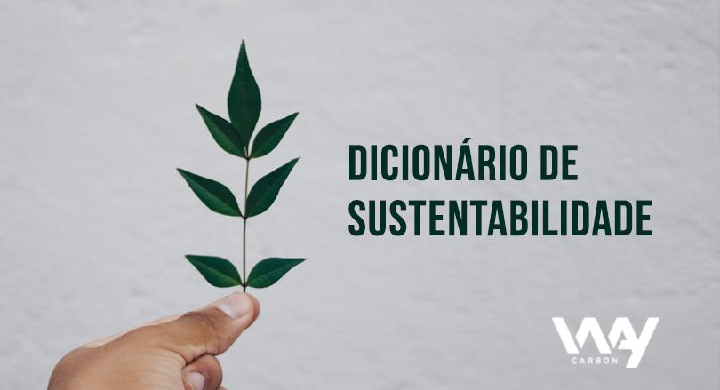 dicionário de sustentabilidade