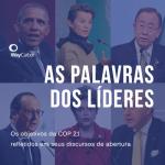 COP 21: as palavras dos líderes