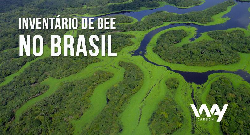 Inventário de GEE no Brasil
