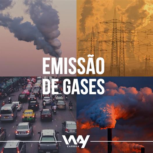 emissão de gases